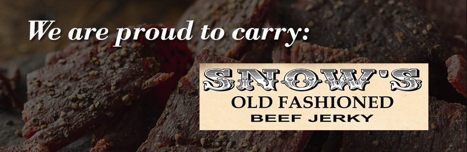 we offer snow's old fashion beef jerky