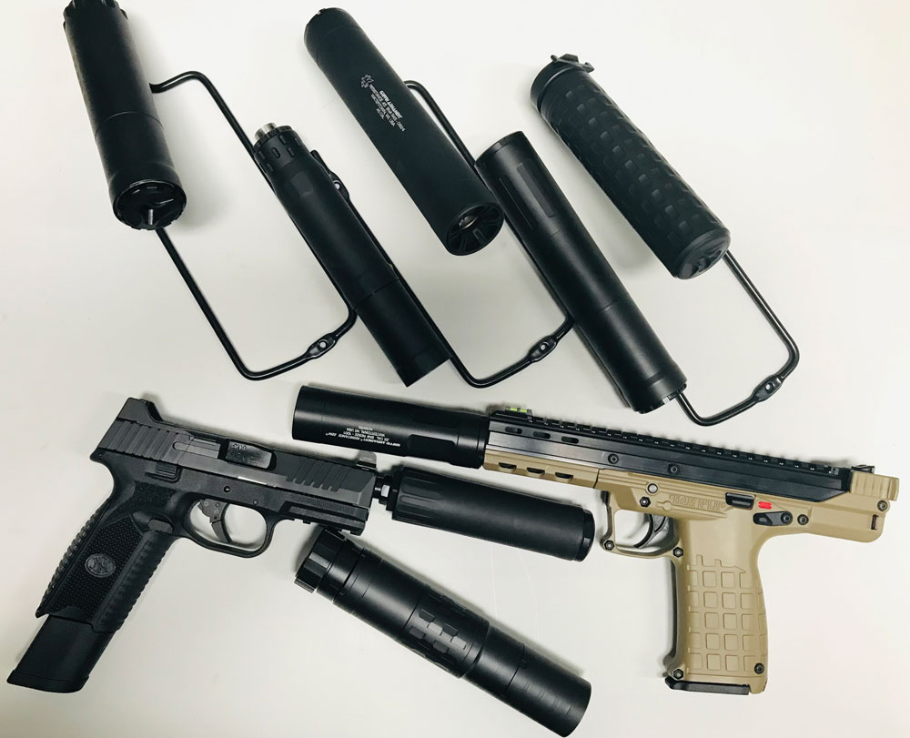 weapon silencers